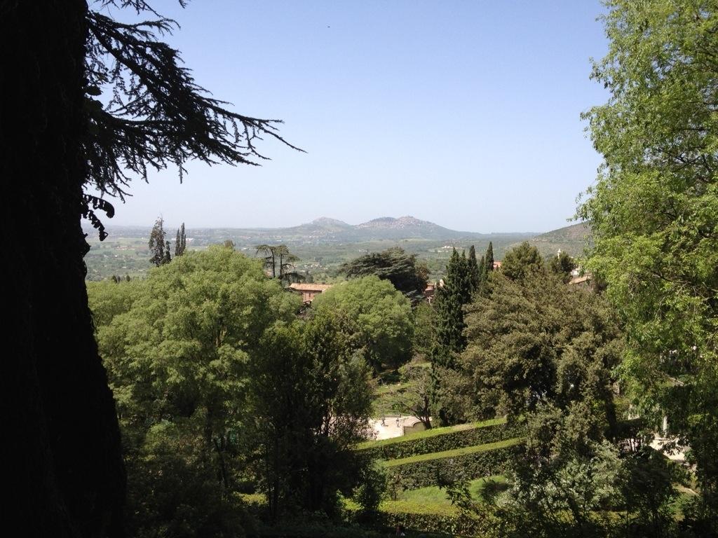Uitzicht vanaf Villa d'Este