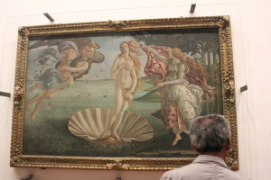 The Birth of Venus, Botticelli, ~1486