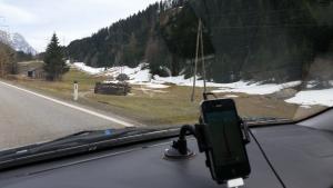 Alpensneeuw