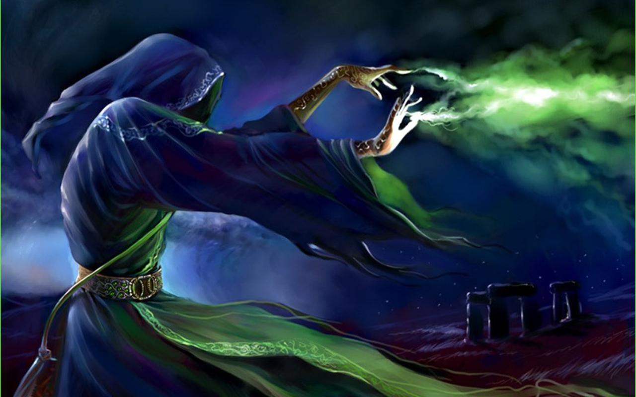 Risultati immagini per mage cast spell